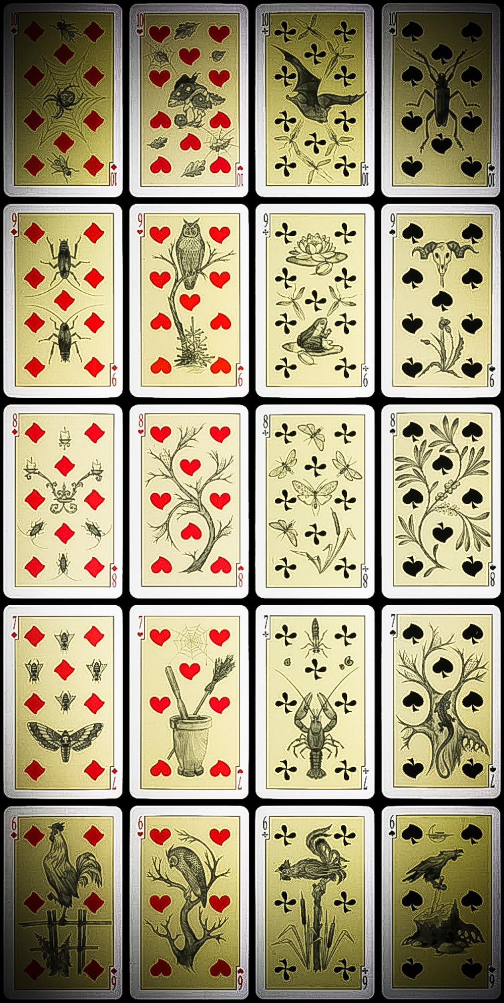 Russian Folk Tales Divination Cards