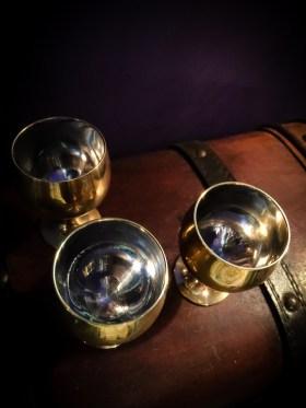 Mini Brass Altar Cup