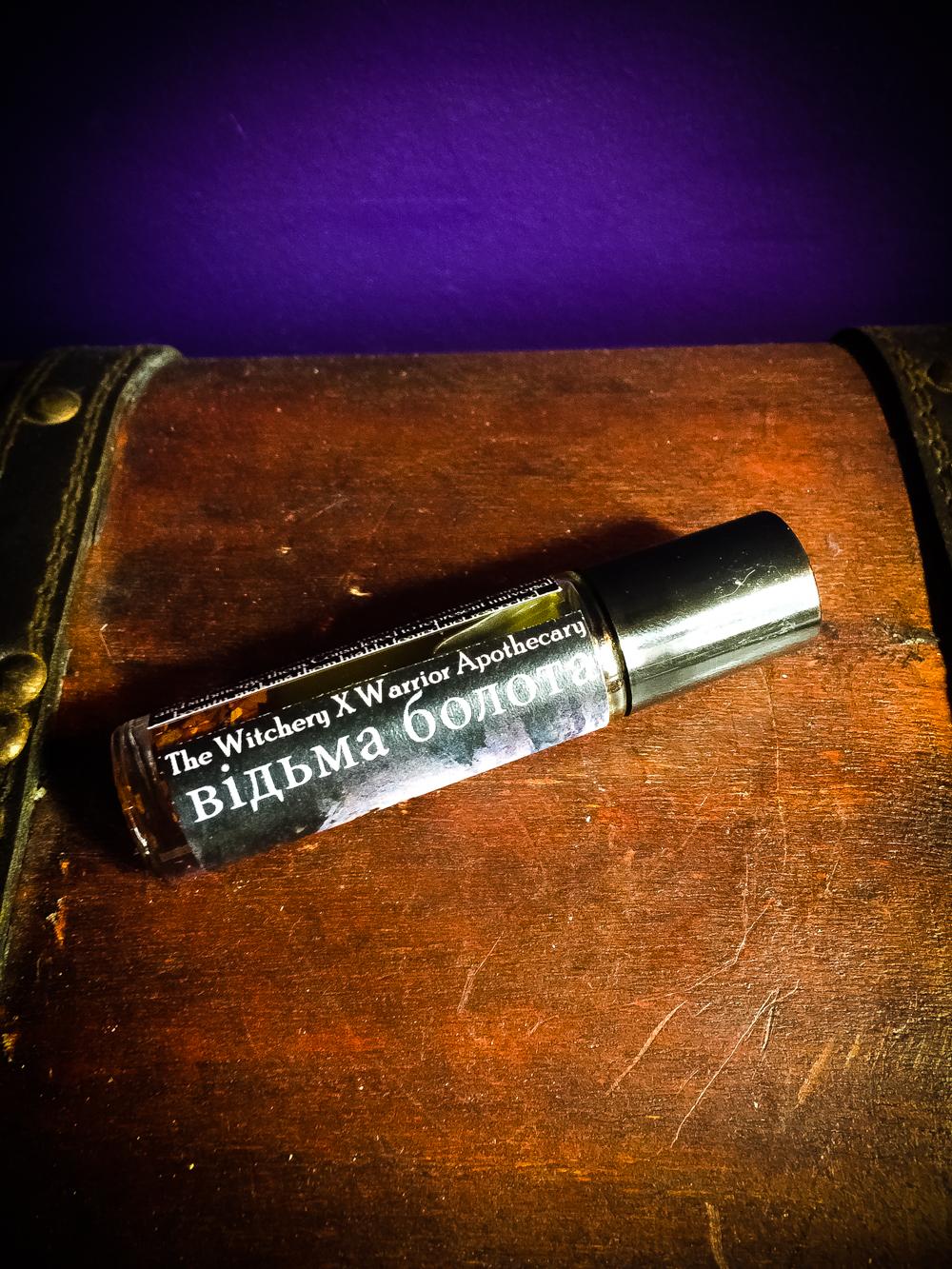 відьма болота rusalka ritual oil
