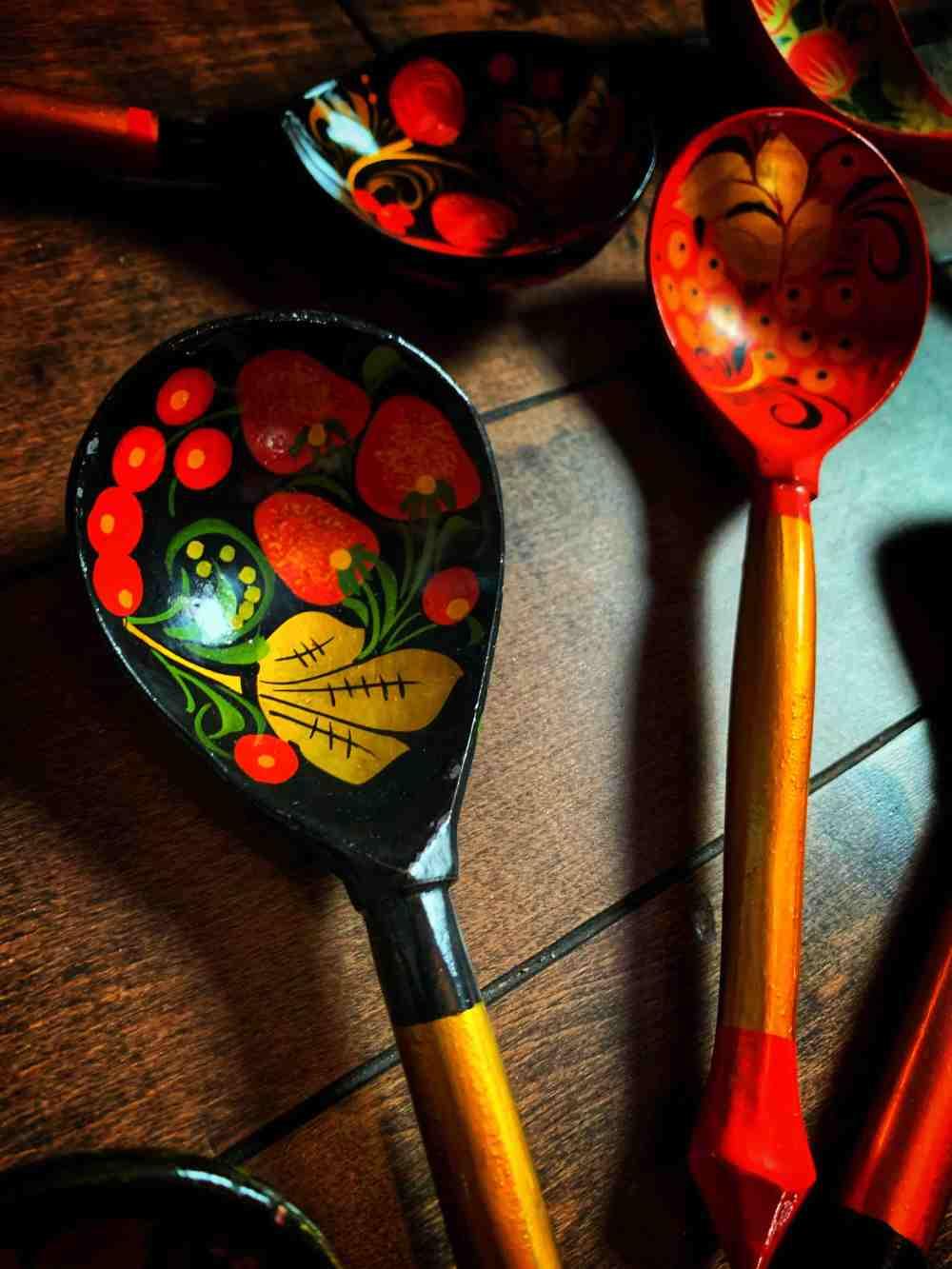 Ukrainian Slavic Ritual Spoon
