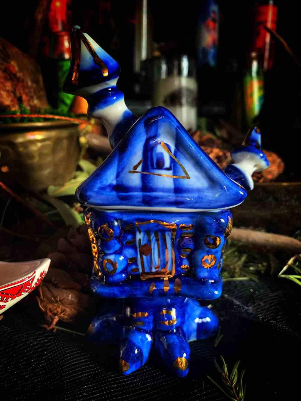 Baba Yaga Sugar Bowl