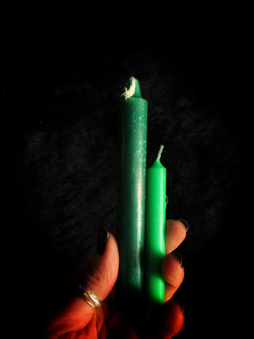 Green Altar Candle