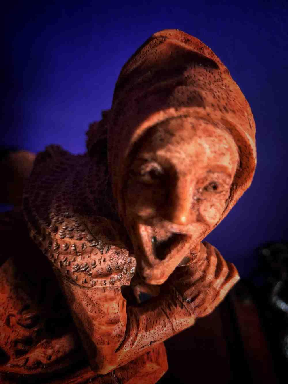 Baba Yaga Altar Statue