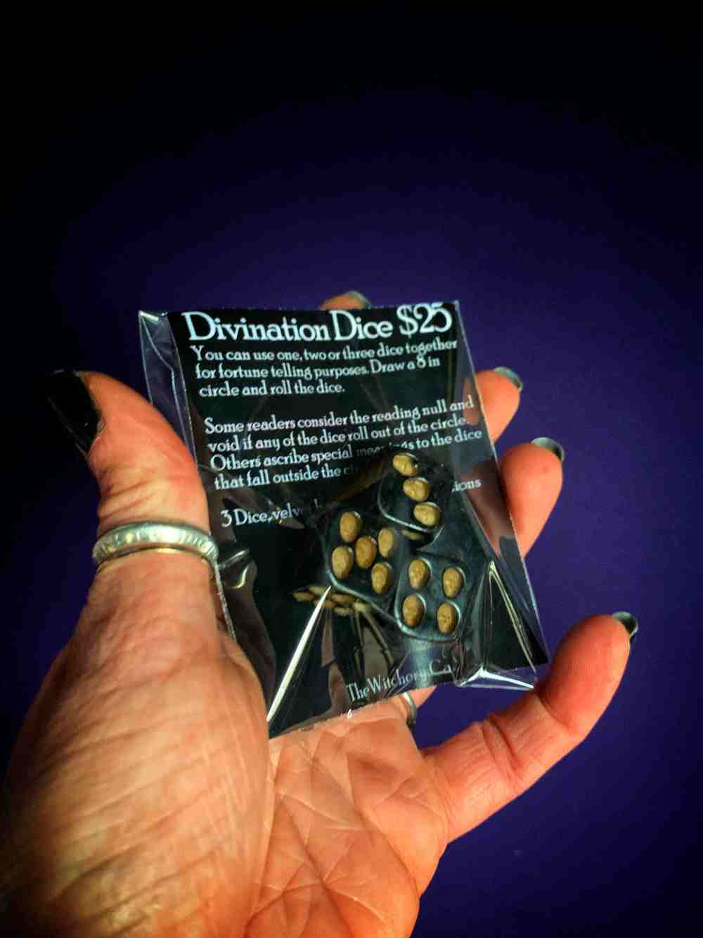Skull Divination Dice