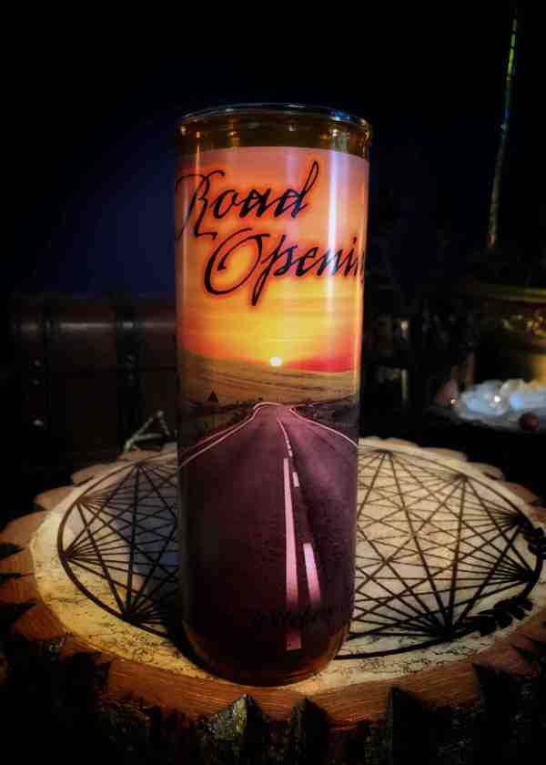 Road Opening Vigil Candle