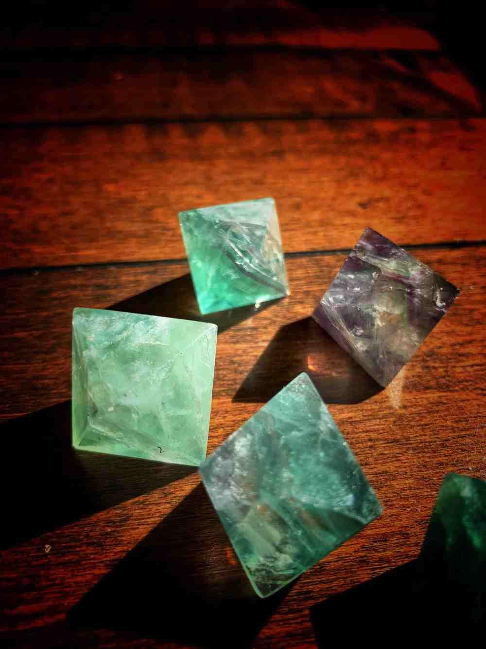 Fluorite Diamond High Quality