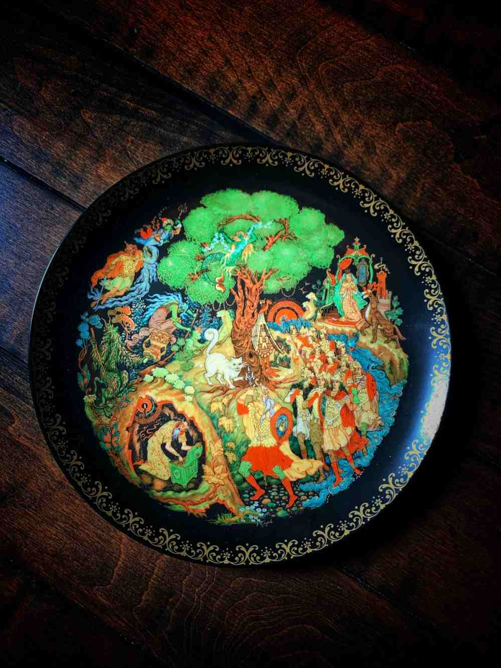 Slavic Fairy Tale Altar Plate