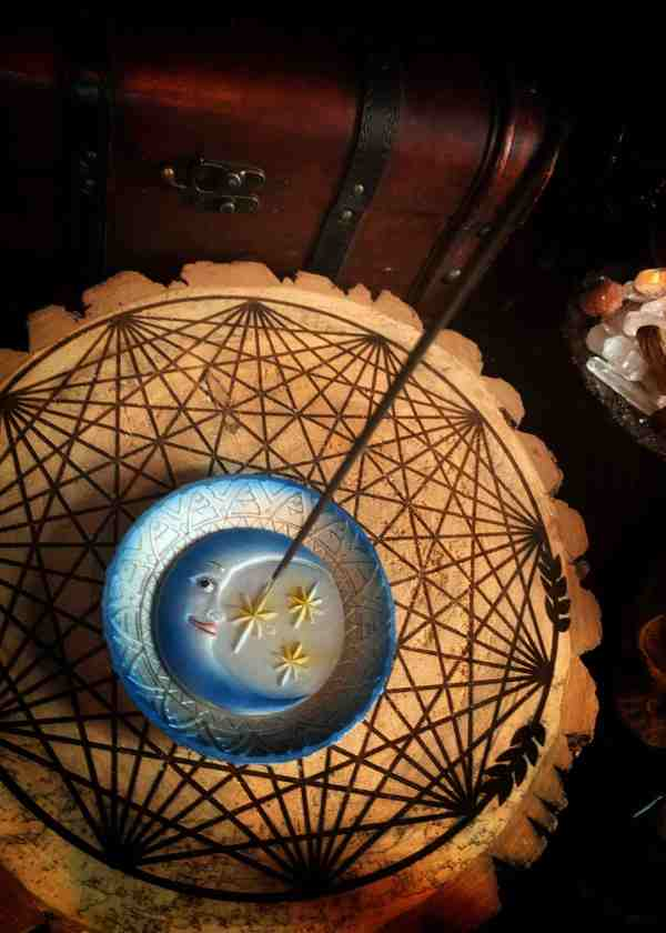 Celestial Incense Stick Burner