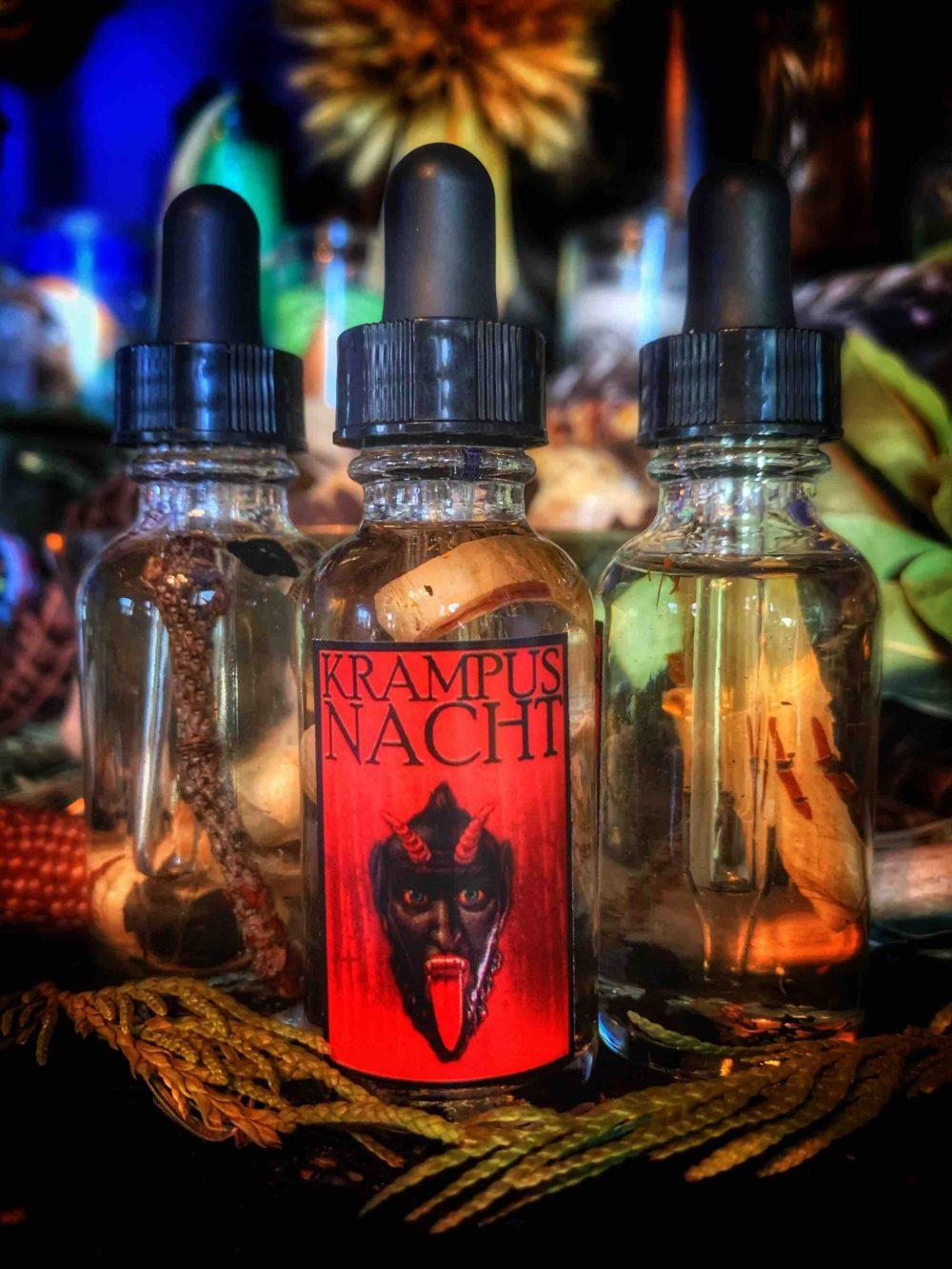 Krampusnacht Ritual Oil