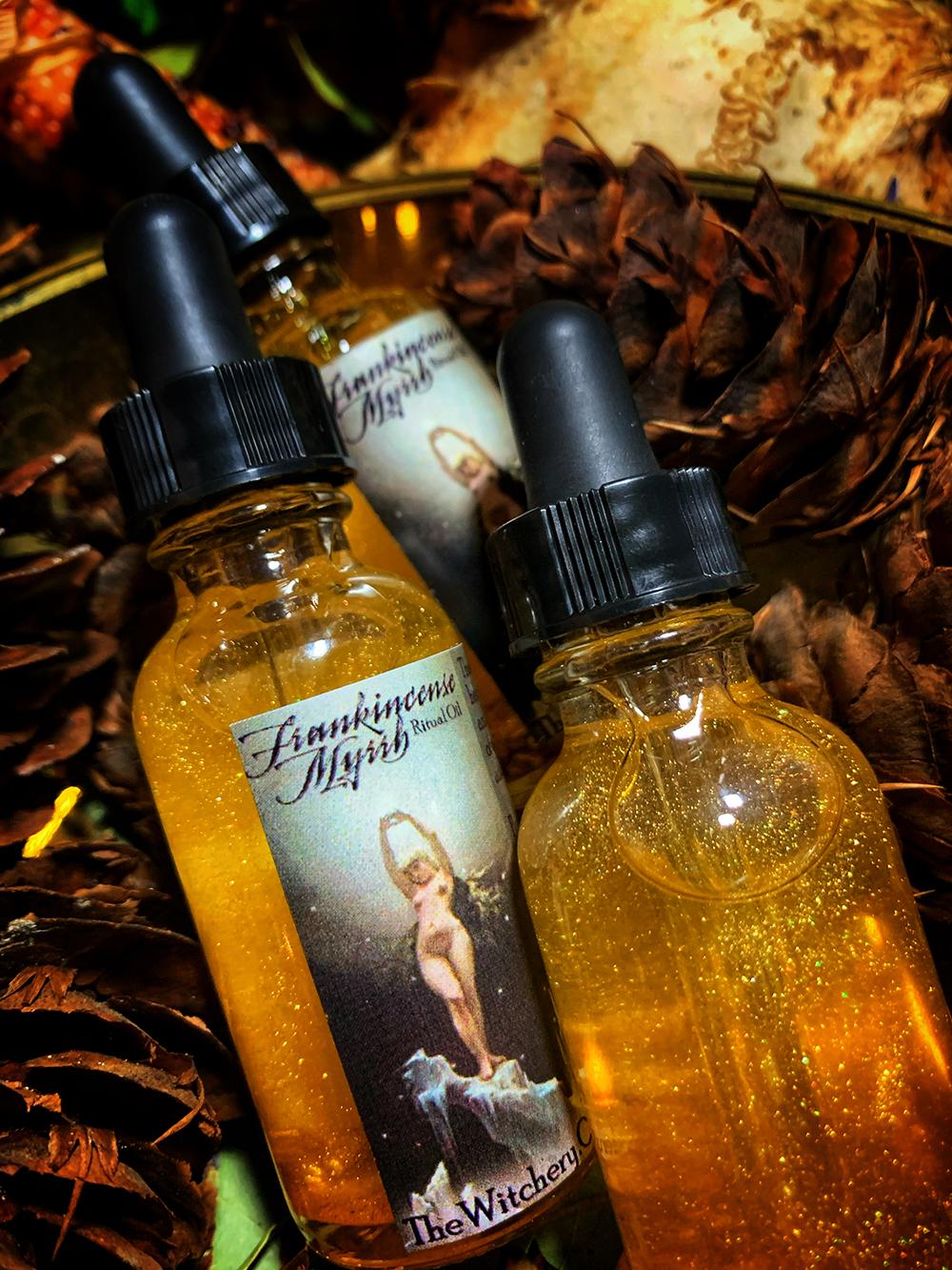 Frankincense & Myrrh Ritual Oil