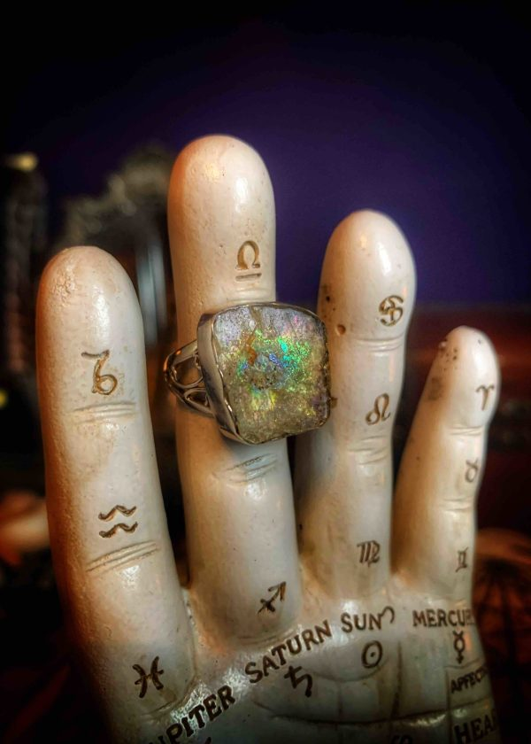 Roman Glass Talismanic Ring