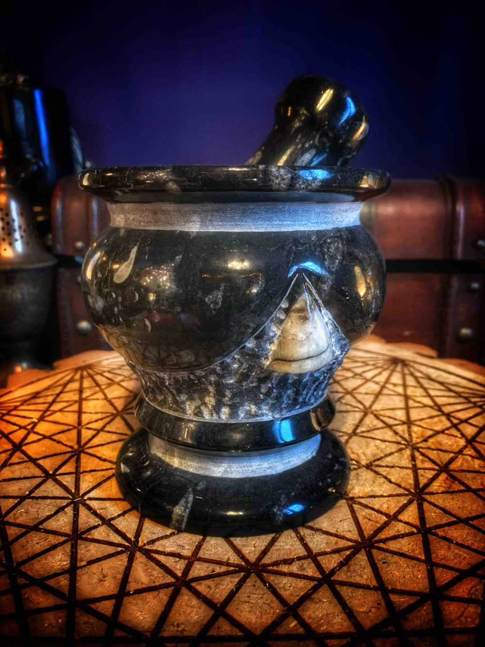 The Sea Witch Mortar & Pestle