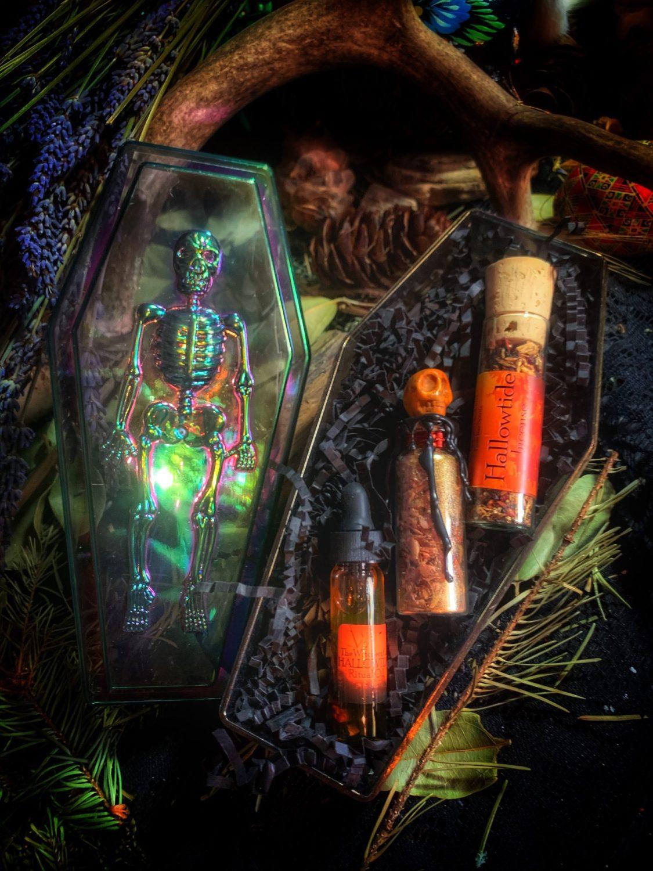 Hallowtide Ancestor Reliquary Box
