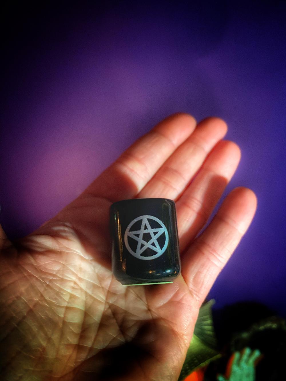 Altar Candle Mini Ceramic Holder 4in