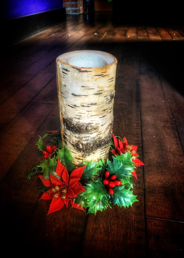 Yuletide Holly Candle Cozy
