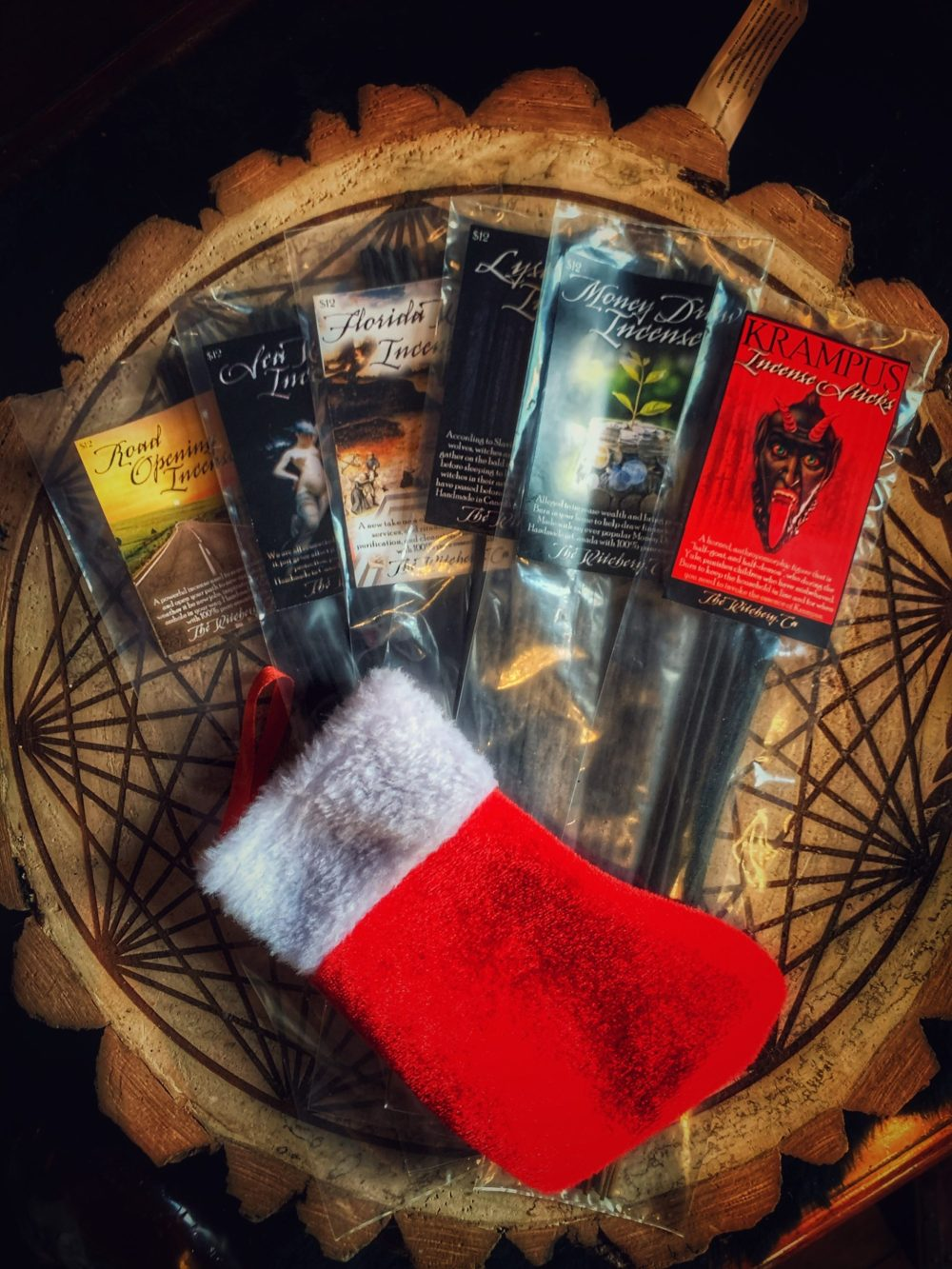 Krampus Sack O' Incense Switches