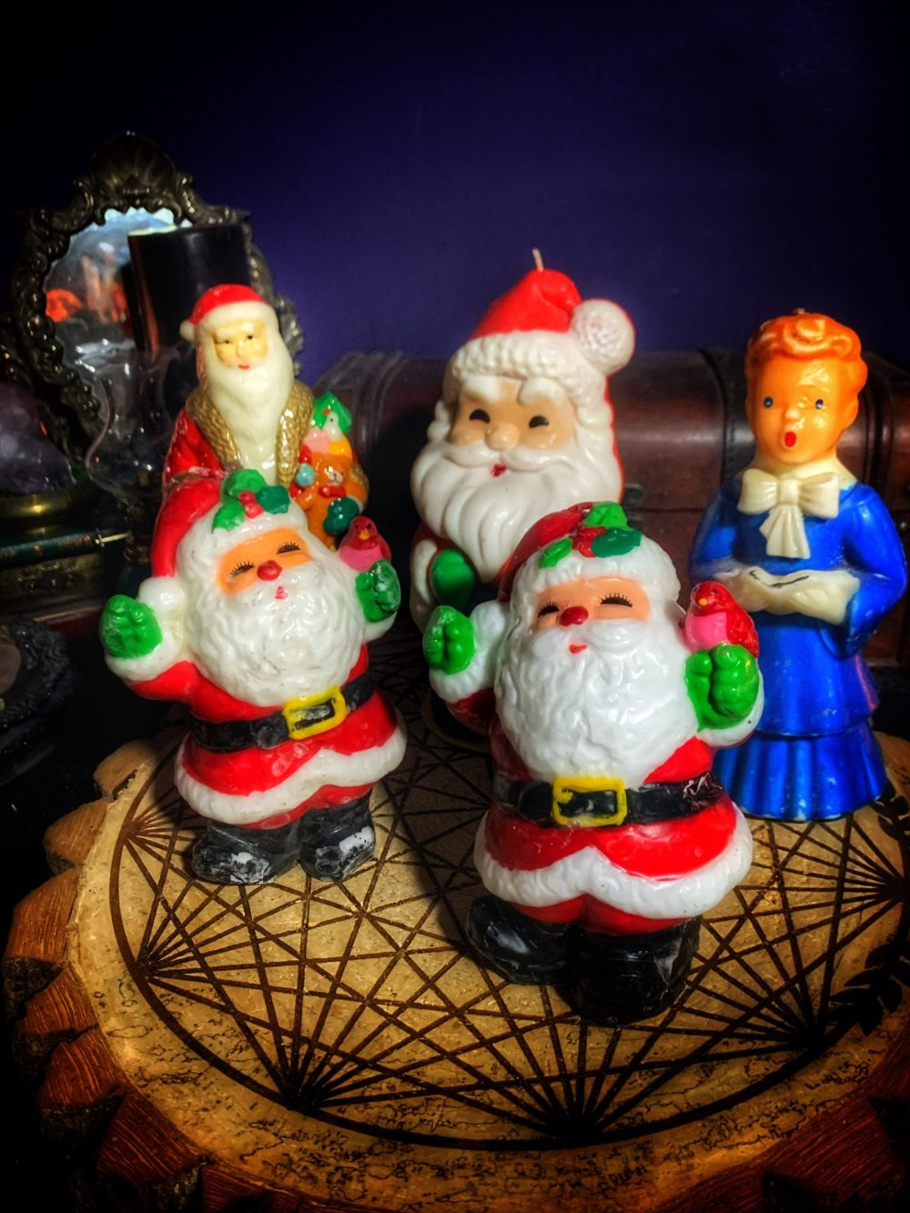 Yule Be Surprised Vintage Candle