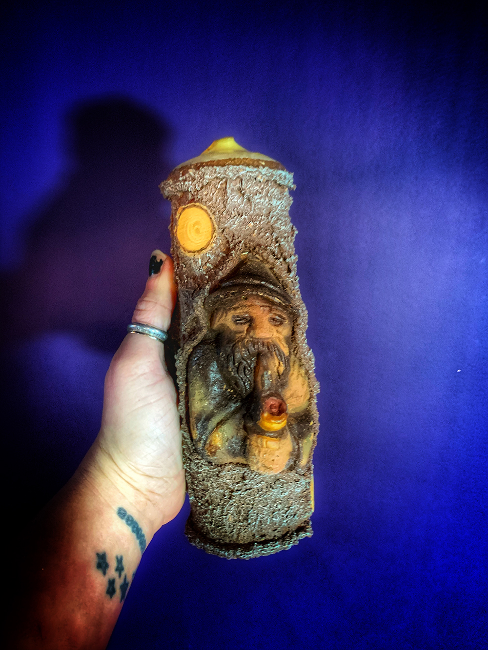 Domovoi House Talisman Candle