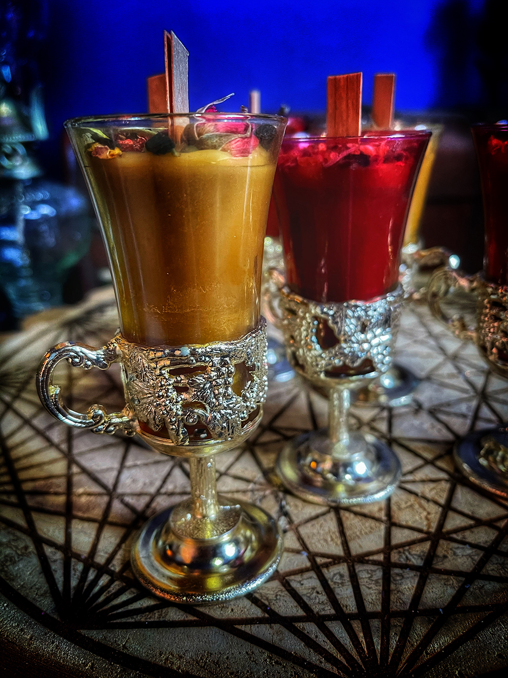 Vesna Shot Glass Candle Vintage