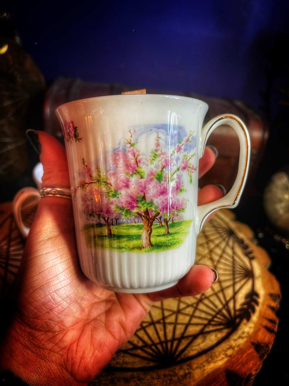 Baba's Last Blossoms Ritual Candle
