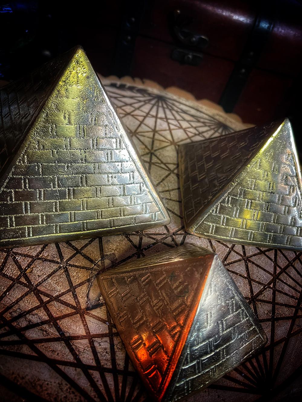 Pyramids Vintage Brass