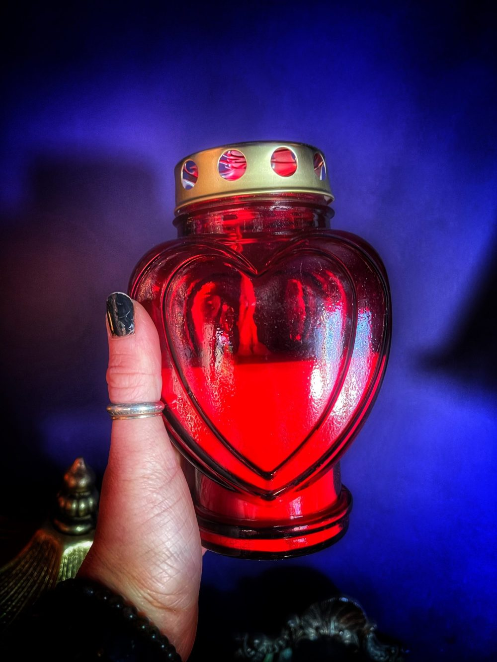 Slavic Grave Blessing Candle