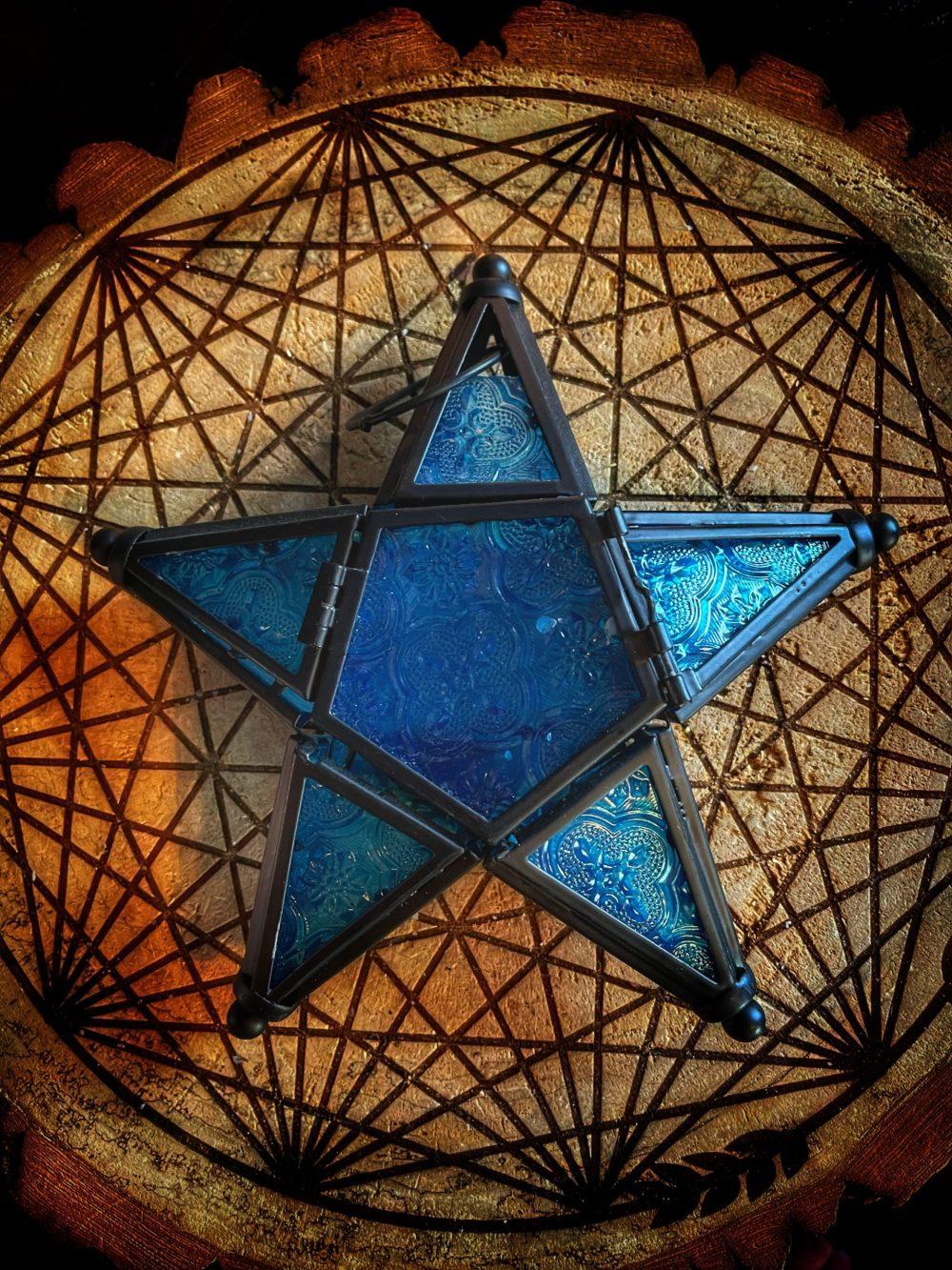 Old World Star Whisp Lantern
