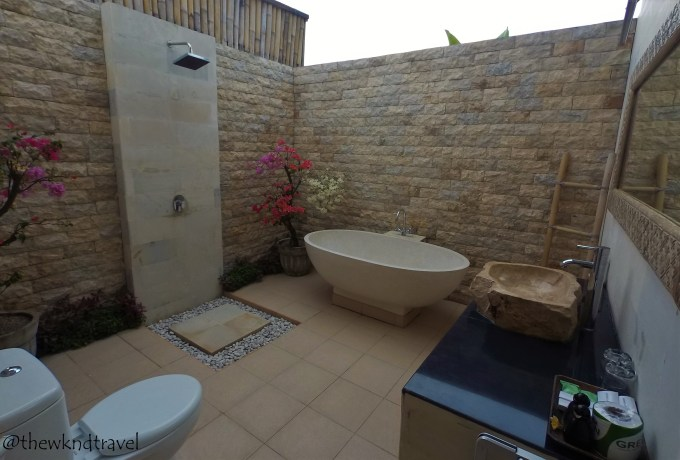 Aside From The Semi Outdoor Bathroom Each Bedroom Features A Cable TV Spacious Bed Sofa Villa Also Has Private Kitchen Complete With Kitchenware