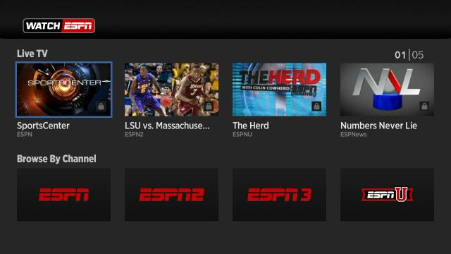 WATCHESPN live sports streaming site