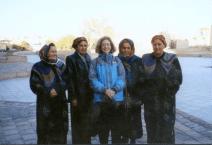 Phyllis Stoller in Uzbekistan