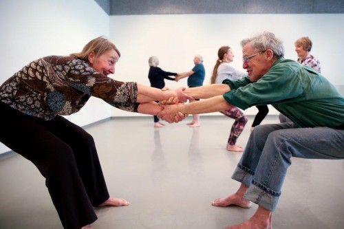 Dance for Health in action - Photo Roswitha Chesher