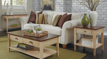 Whitewood living room furniture set