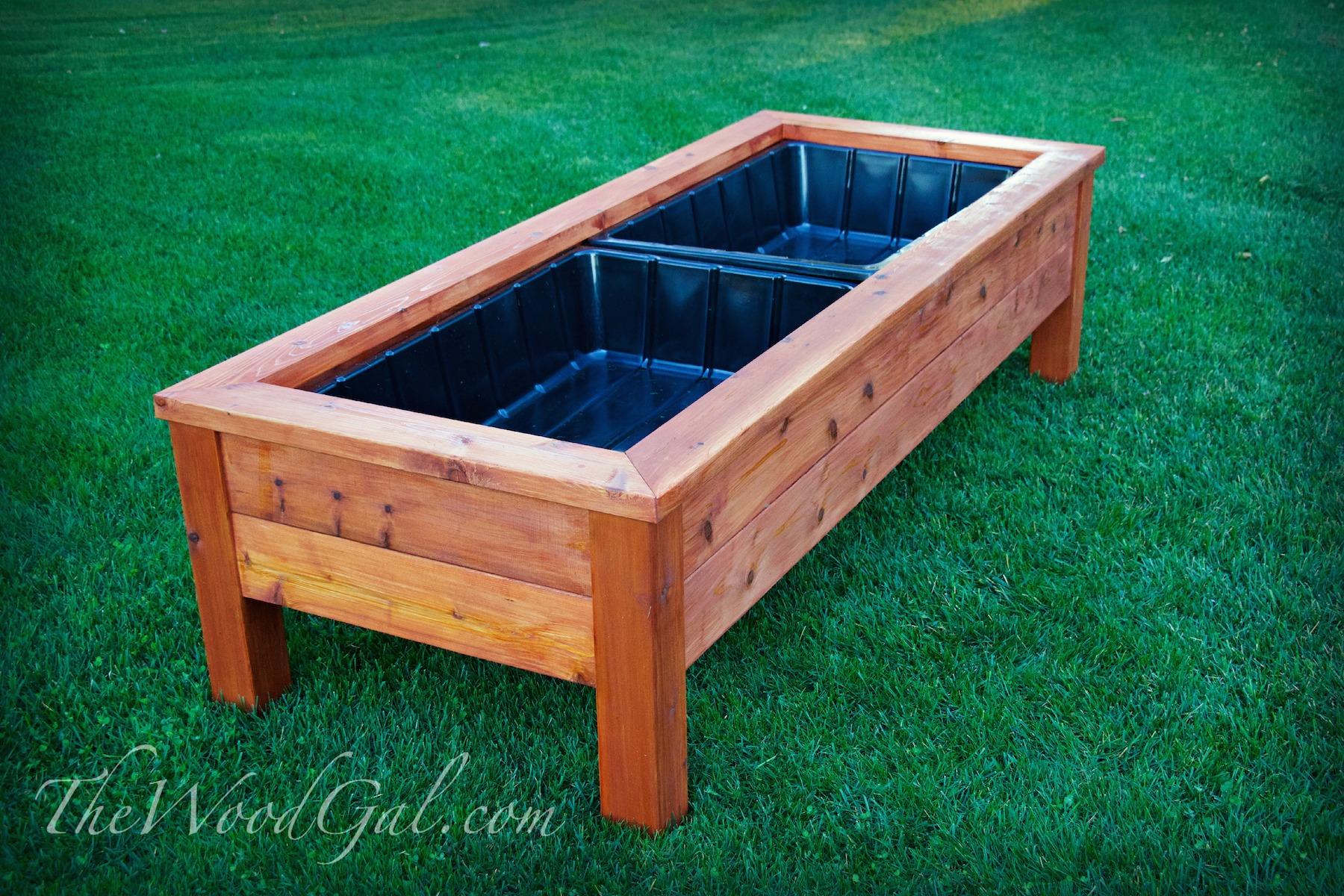 Cedar Planter Box You Can Do This Thewoodgal