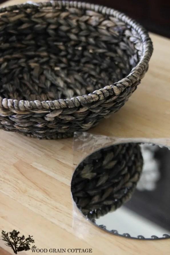 Basket Mirror