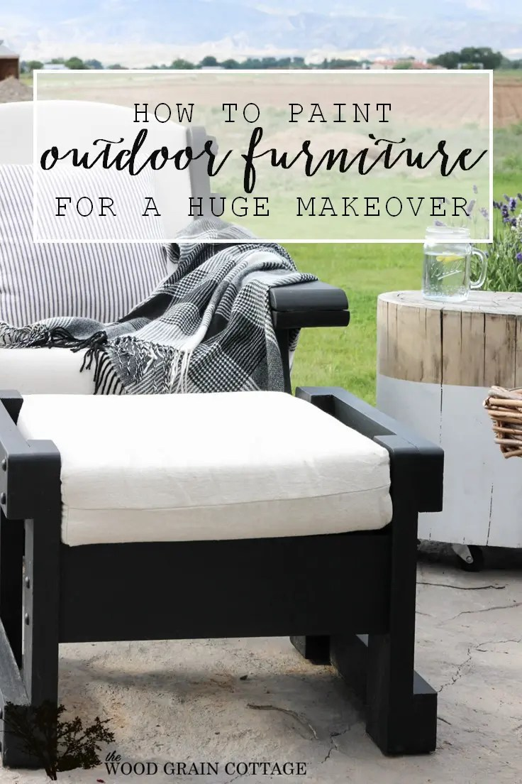 outdoor patio furniture makeover the
