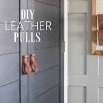 Diy Leather Pulls The Wood Grain Cottage