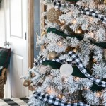 The Best Flocked Christmas Trees The Wood Grain Cottage