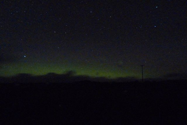 Latest attempt to photograph the Northern Lights