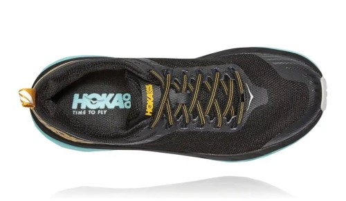 Hoka One One Womens Challenger ATR 5 Anthracite Antigua Sand Top