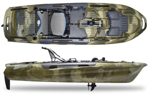 3 Waters Kayaks Big Fish 108 Terra Camo