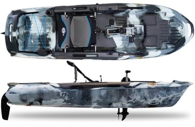 3 Waters Kayaks Big Fish 108 Urban Camo