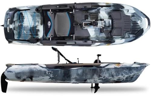 3 Waters Kayaks Big Fish 108 Urban Camo