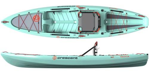 Crescent Kayaks LiteTackle Seafoam