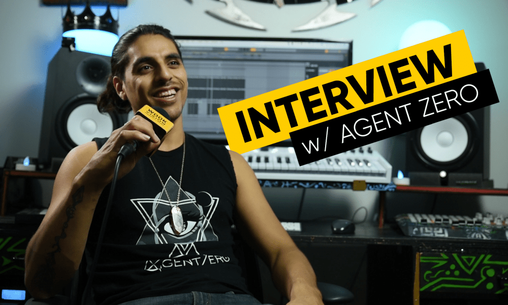 Watch Agent Zero talk Camp Bisco, Becoming a Producer, and more in Exclusive Interview! [VIDEO]