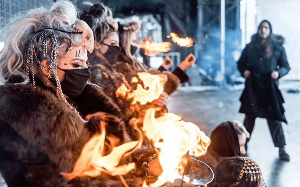Meet the Badass All-Female Fire Breathers That Make Up The Hive [INTERVIEW]