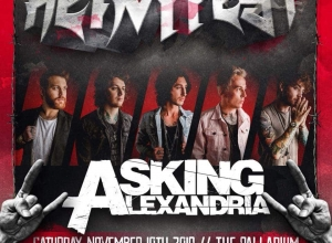 Heavy Fest's Full Lineup Boasts Asking Alexandria, Sullivan King, Chris Webby + more!