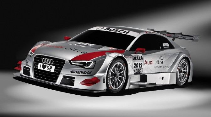 DTM 2012 Audi A5 World Premiere