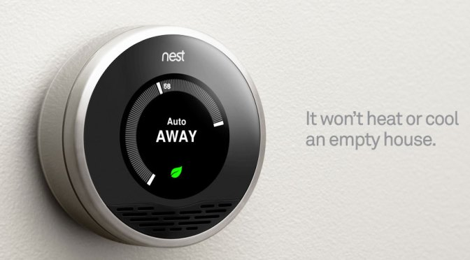 The Nest learning thermostat. Wow!