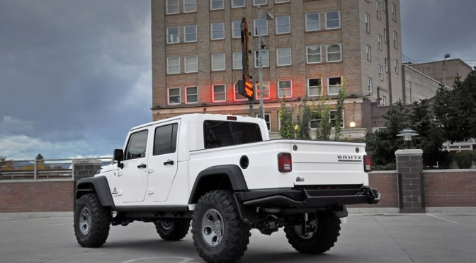 AEV 4-Door Jeep Brute Double Cab Pickup