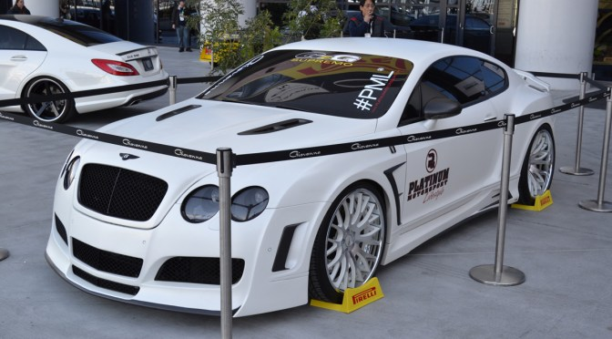 Sema 2011 – Modified Bentleys